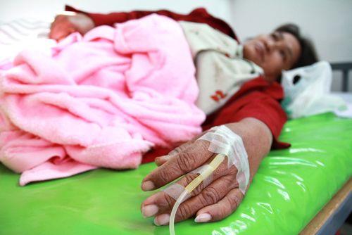 Paciente com cólera / Foto: Shutterstock