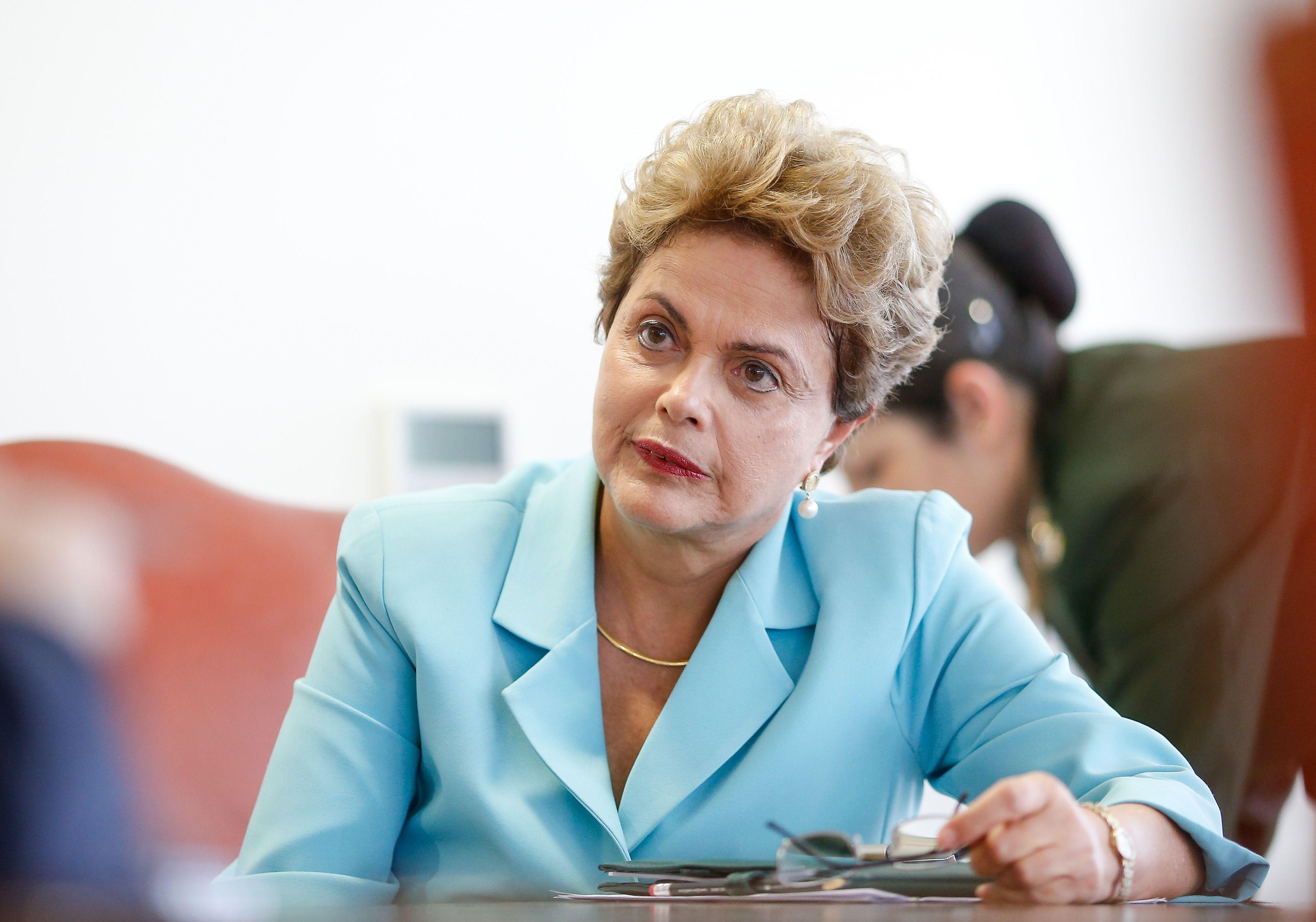 Dilma Rousseff fez críticas à oposição / Folhapress