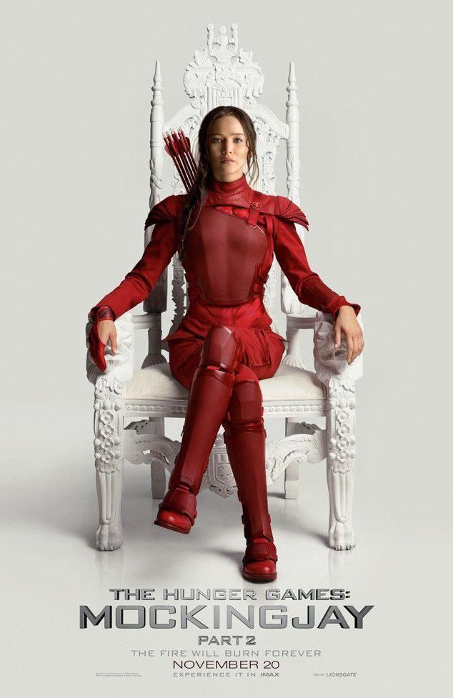 Katniss Everdeen é a protagonista da história / Divulgação