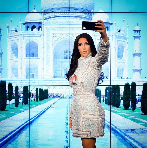 A estátua está no museu Madame Tussauds de Londres / Divulgação/Instagram