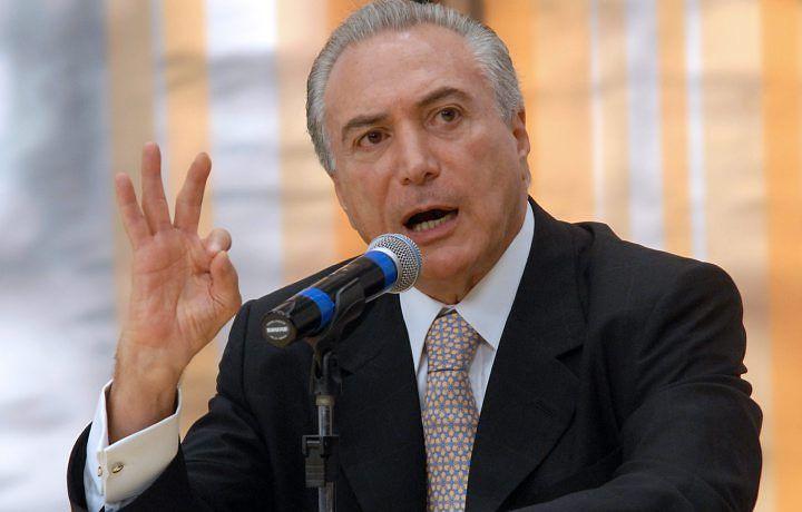 Temer falou sobre rompimento de Cunha com o governo / Divulgação