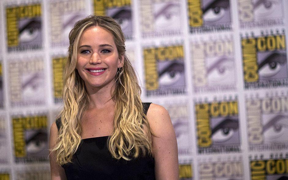 Jennifer Lawrence na Comic-Con 2015, em San Diego / Mario Anzuoni/Reuters