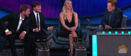 Jennifer Lawrence cantou Cher em programa de TV / Reprodução/Youtube