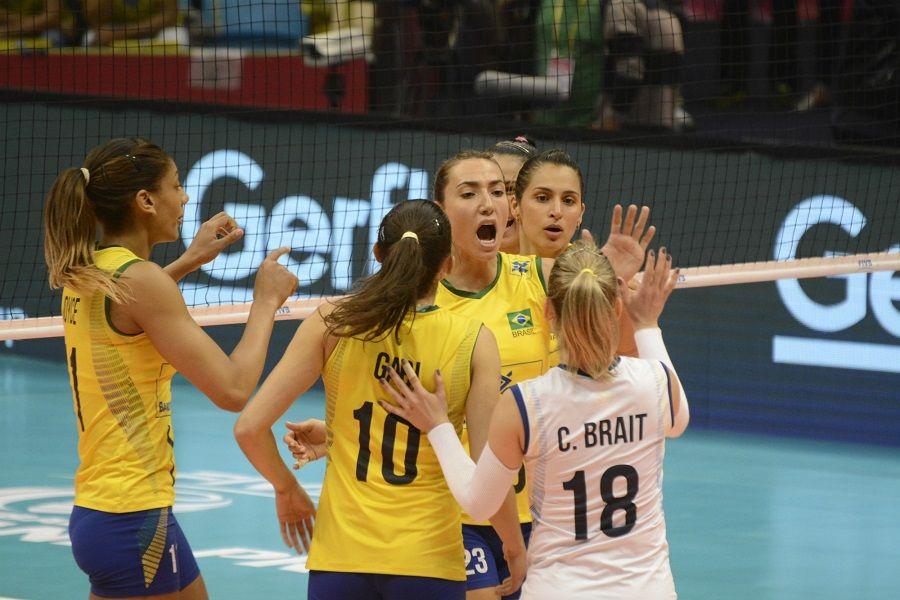 Brasil encara Japão e Rússia no vôlei feminino