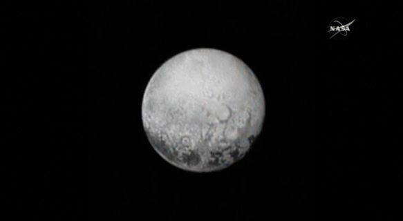 Imagens novas de Plutão são mais claras / Nasa/Reuters