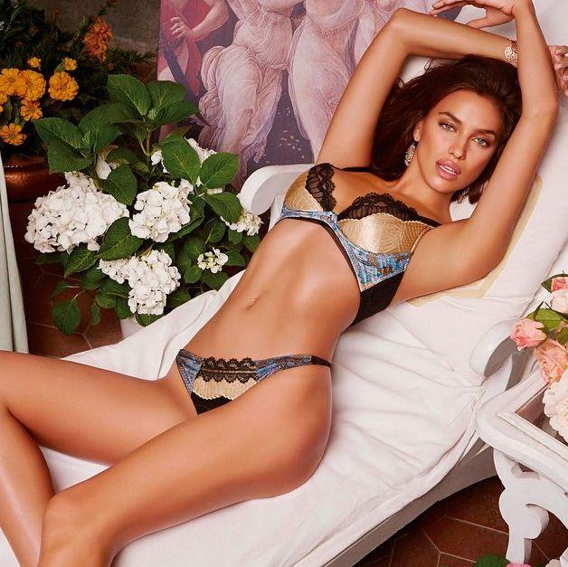 Irina Shayk recebeu críticas por suspeitas de Photoshop na imagem / Divulgação/Instagram