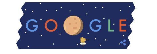 Google faz homenagem à New Horizons com doodle / Reprodução/Google