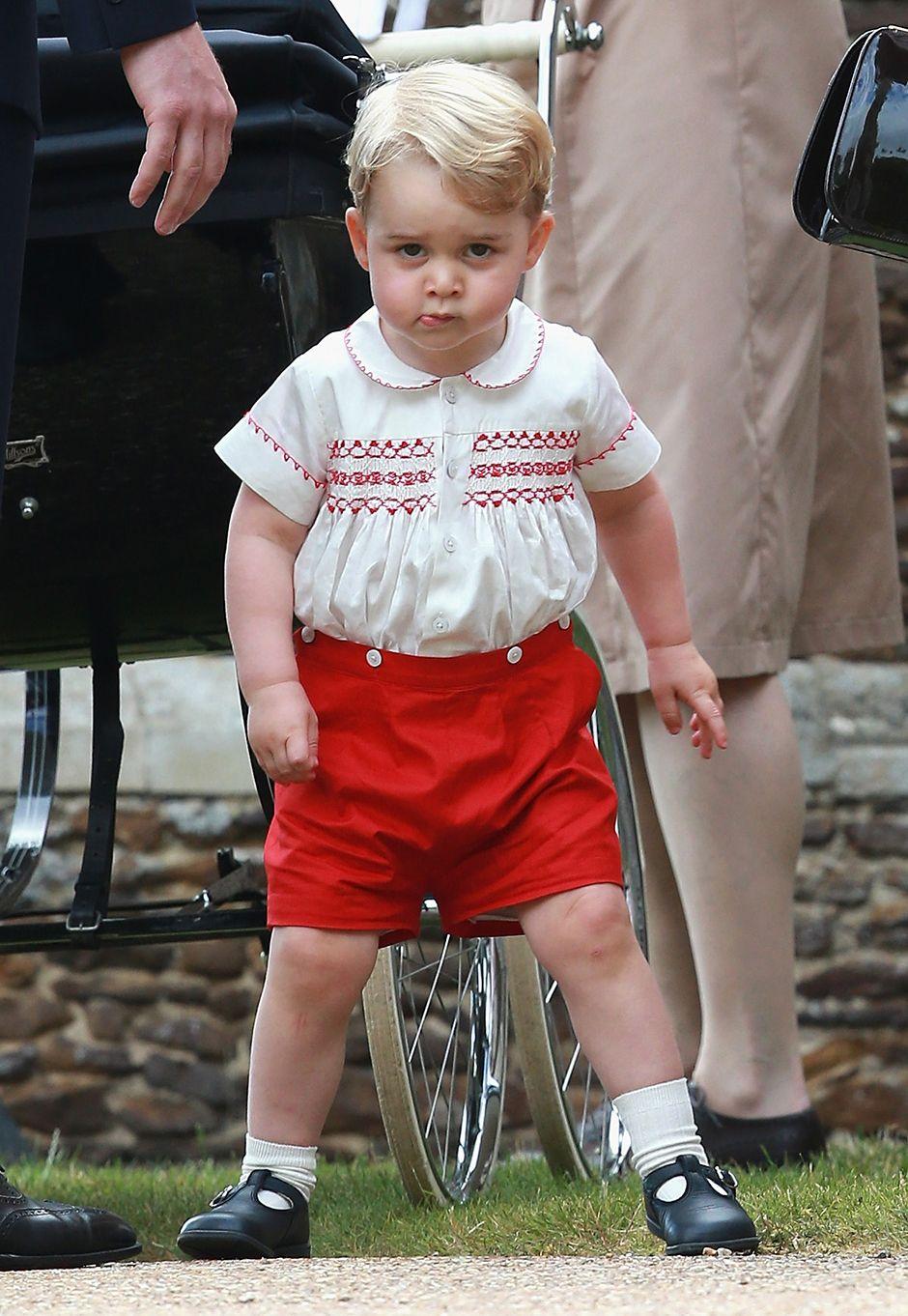 George fará 2 anos no próximo dia 22 / Chris Jackson/AFP