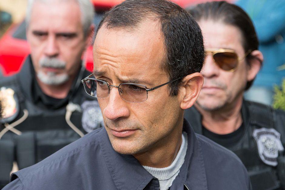 Marcelo Odebrecht ao ser preso, há quase um mês / Futura Press/Folhapress