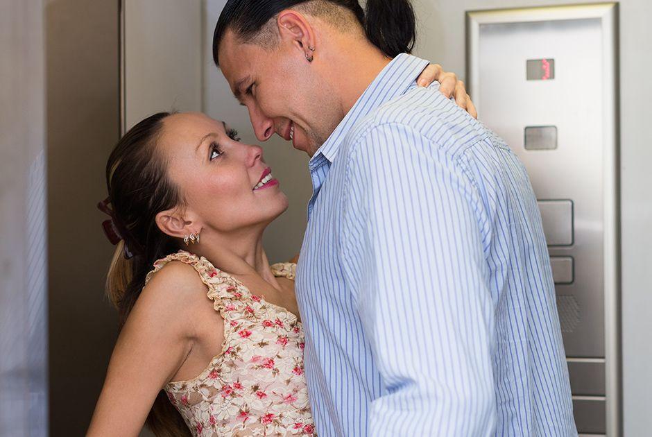 Sexo no elevador