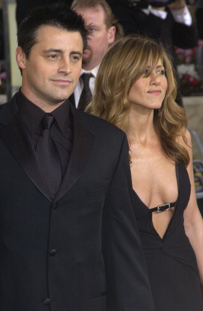 Matt LeBlanc e Jennifer Aniston em foto de 2004 / Featureflash/Shutterstock.com