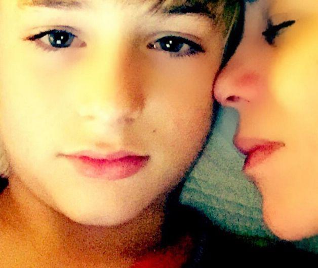Danielle Winits posou com o filho Noah / Divulgação/Instagram