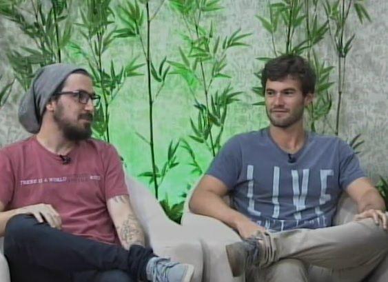 Rafael Saes e Lucas Emmanuel Rodrigues fazem trabalho no Nepal / Reprodução/Youtube/TV Band Maring¿¿