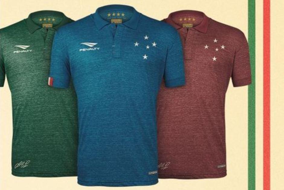 43a96d8fdf30b Cruzeiro lança nova camisa em homenagem à Itália - Notícias ...