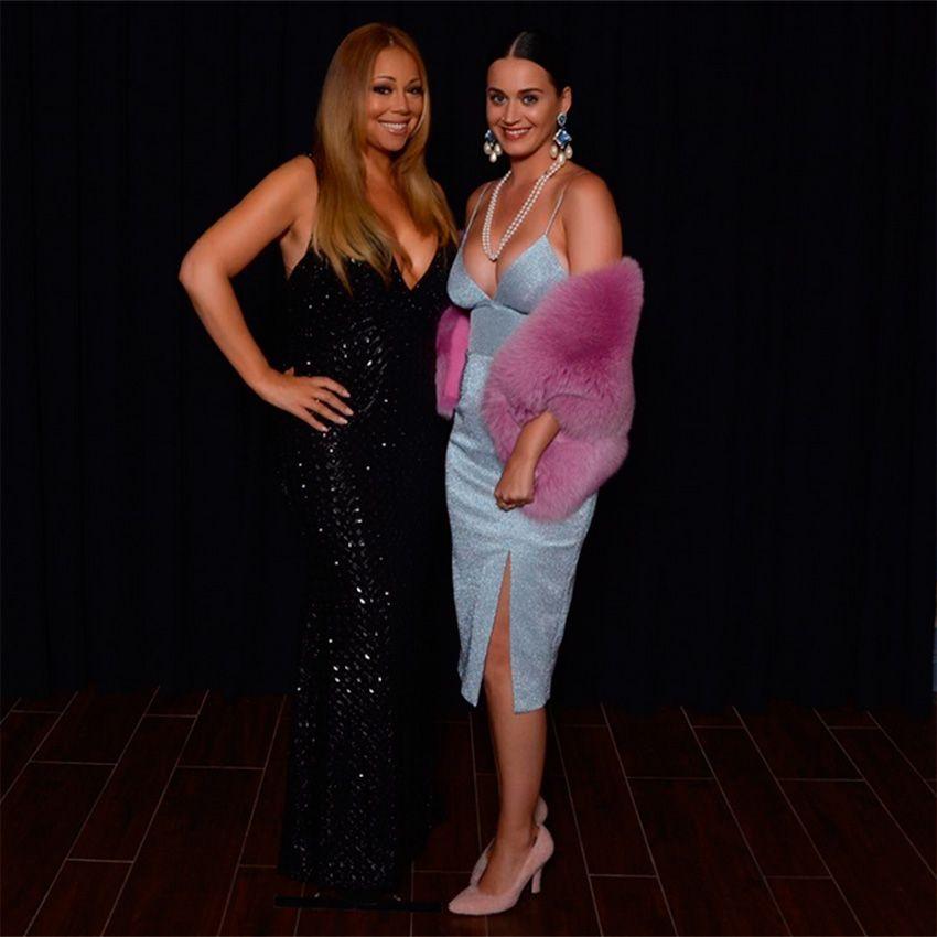 Katy Perry elogiou Mariah em português no Instagram / Divulgação/Instagram