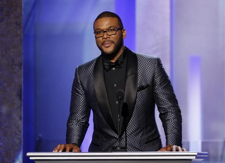 Cineasta Tyler Perry discursa durante evento em Pasadena, nos EUA / Danny Moloshok/Reuters