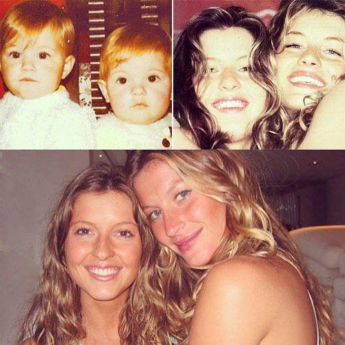 Gisele e Patrícia Bündchen  festejam 35 anos / Divulgação/Instagram