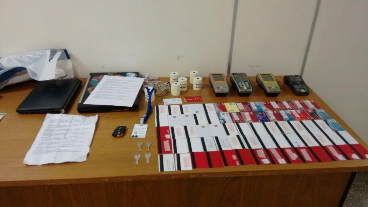 Apreensão em flagrante de quadrinha especializada em roubo de cartões de crédito / Polícia Civil