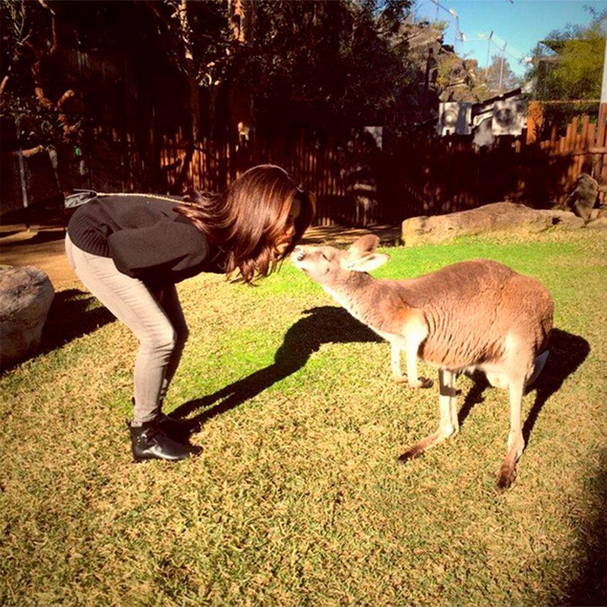 A atriz foi visitar um zoológico / Divulgação/Instagram