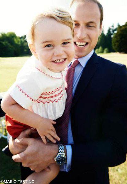 George fará dois anos nesta quarta-feira / Reprodução/Twitter Kensington Palace
