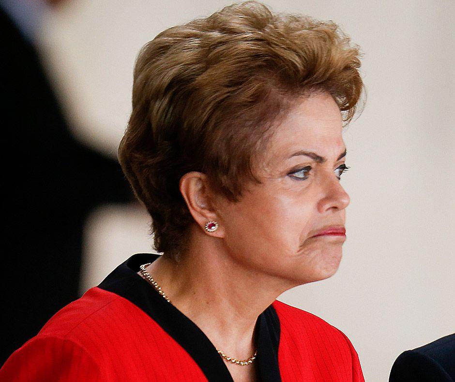 Dilma o projeto aprovado no Congresso, como já era previsto / Pedro Ladeira/Folhapress