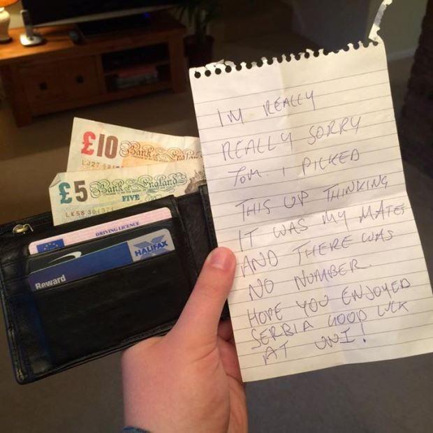 Homem pensa ter carteira furtada, mas a recebe de volta