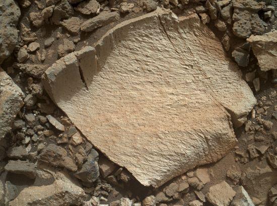 Sílica é composta por silício e oxigênio e encontrada como quartzo na Terra / Ho / NASA / JPL-Caltech / MSSS / AFP