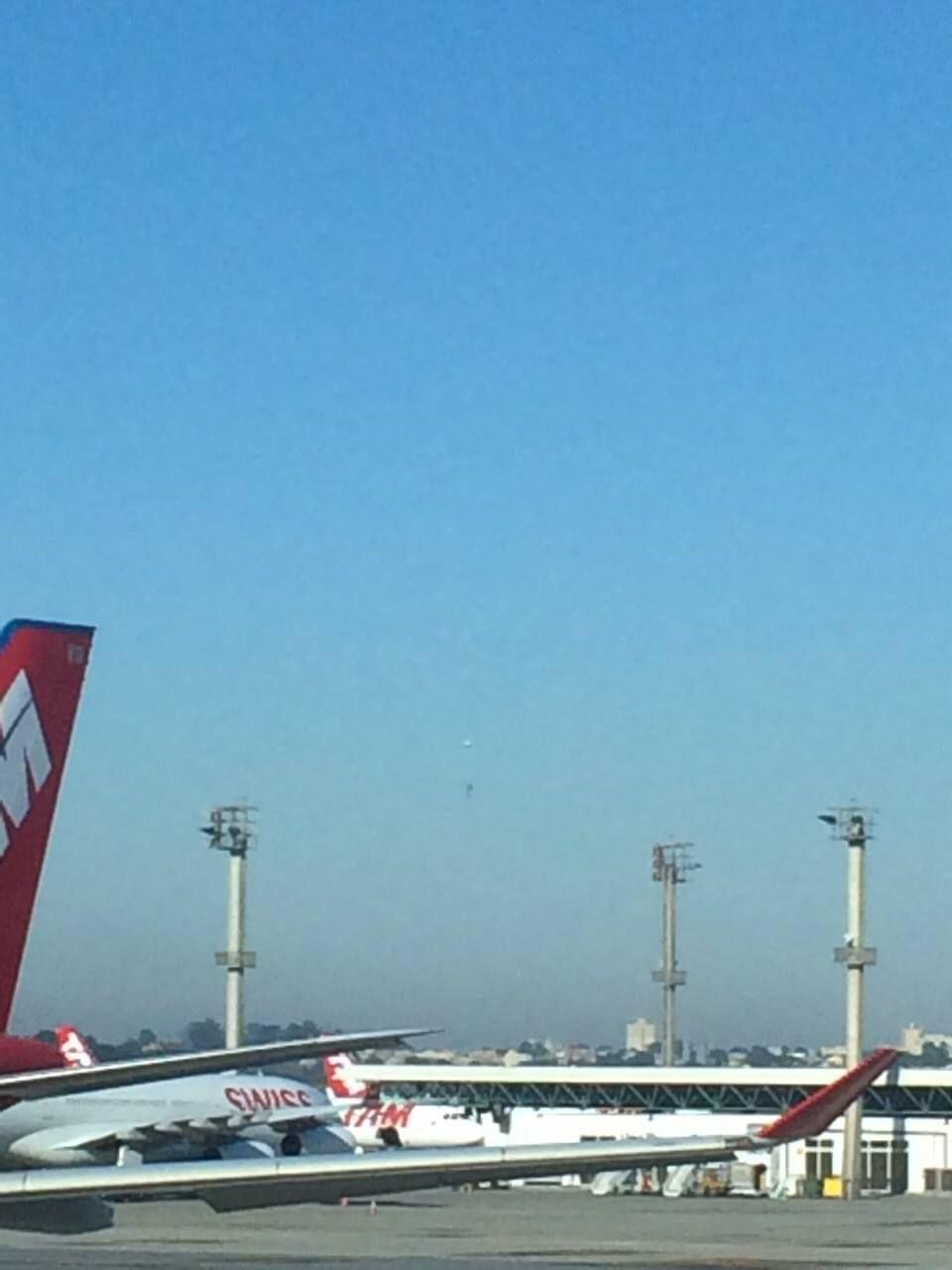 SP: balão é solto próximo ao aeroporto de Cumbica