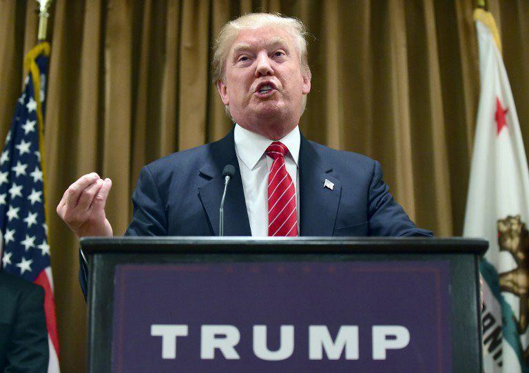 Candidato do Partido Republicano nas eleições presidenciais americanas, o multimilionário alegou que foi mal interpretado / Frederic J. Brown/AFP