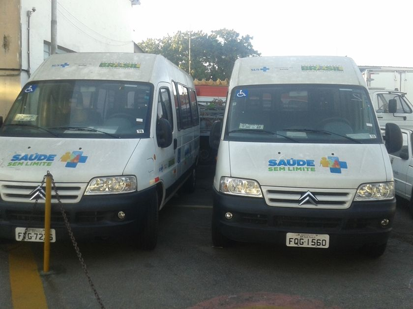 Vans custaram R$ 150 mil cada uma  / Agostinho Teixeira/Rádio Bandeirantes