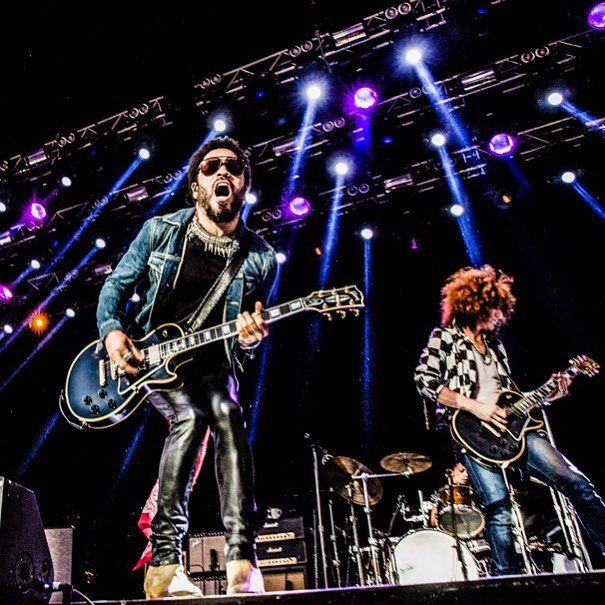 Lenny Kravitz se apresentou em Estolcomo / Divulgação/Instagram