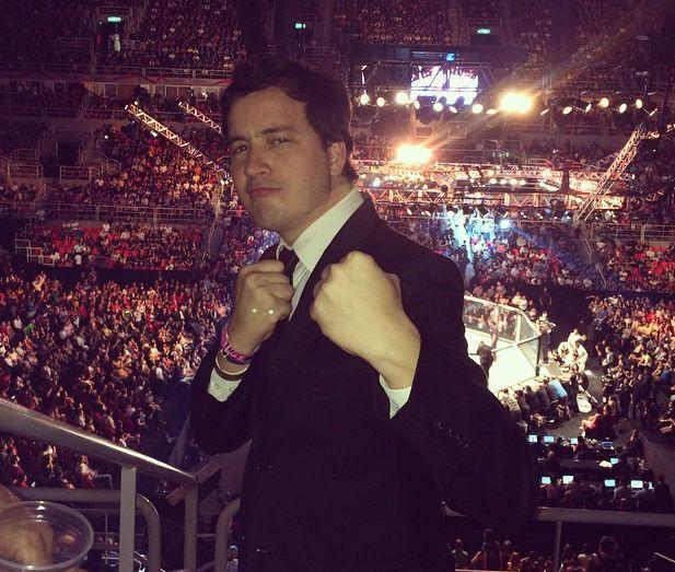 Rafael Cortez viu o triunfo de Ronda no UFC Rio / Divulgação/Instagram