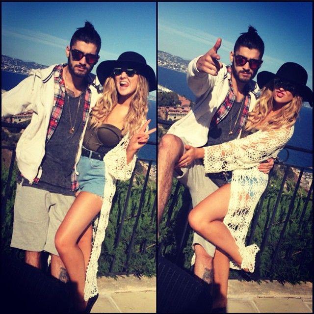 Zayn Malik e Perrie Edwards estavam juntos desde 2012 / Divulgação/Instagram