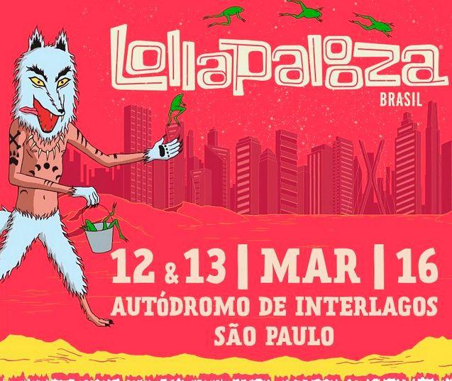 O Lollapalooza será no Autódromo de Interlagos novamente / Divulgação/Instagram/Lollapalooza