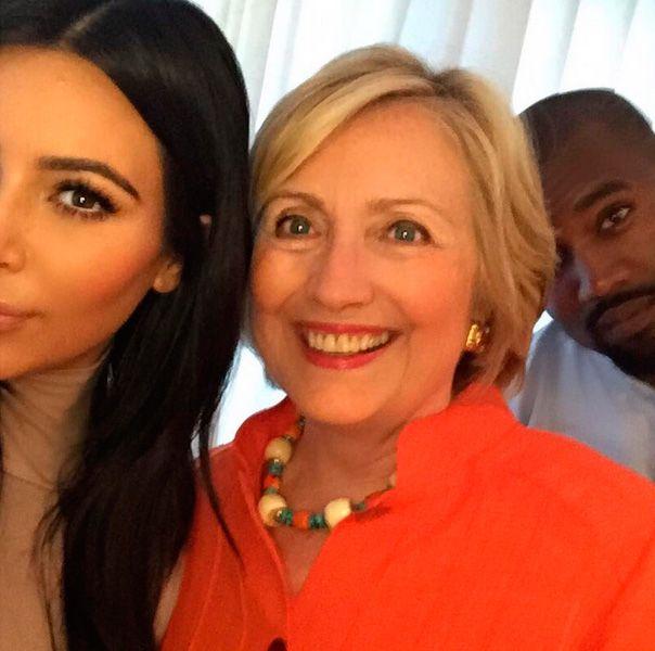 Kim Kardashian vibrou com a selfie / Divulgação/Instagram