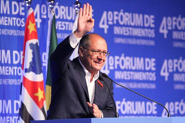 Alckmin participa do 4º Fórum de Investimento Campinas e Região Metropolitana / Luciano Claudino / Código19 / Folhapress