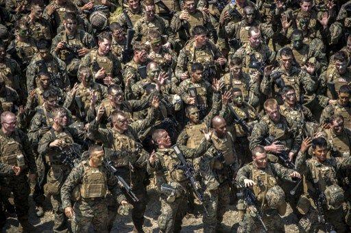 O programa militar termina no próximo dia 10 de agosto / Juni Kriswanto/AFP