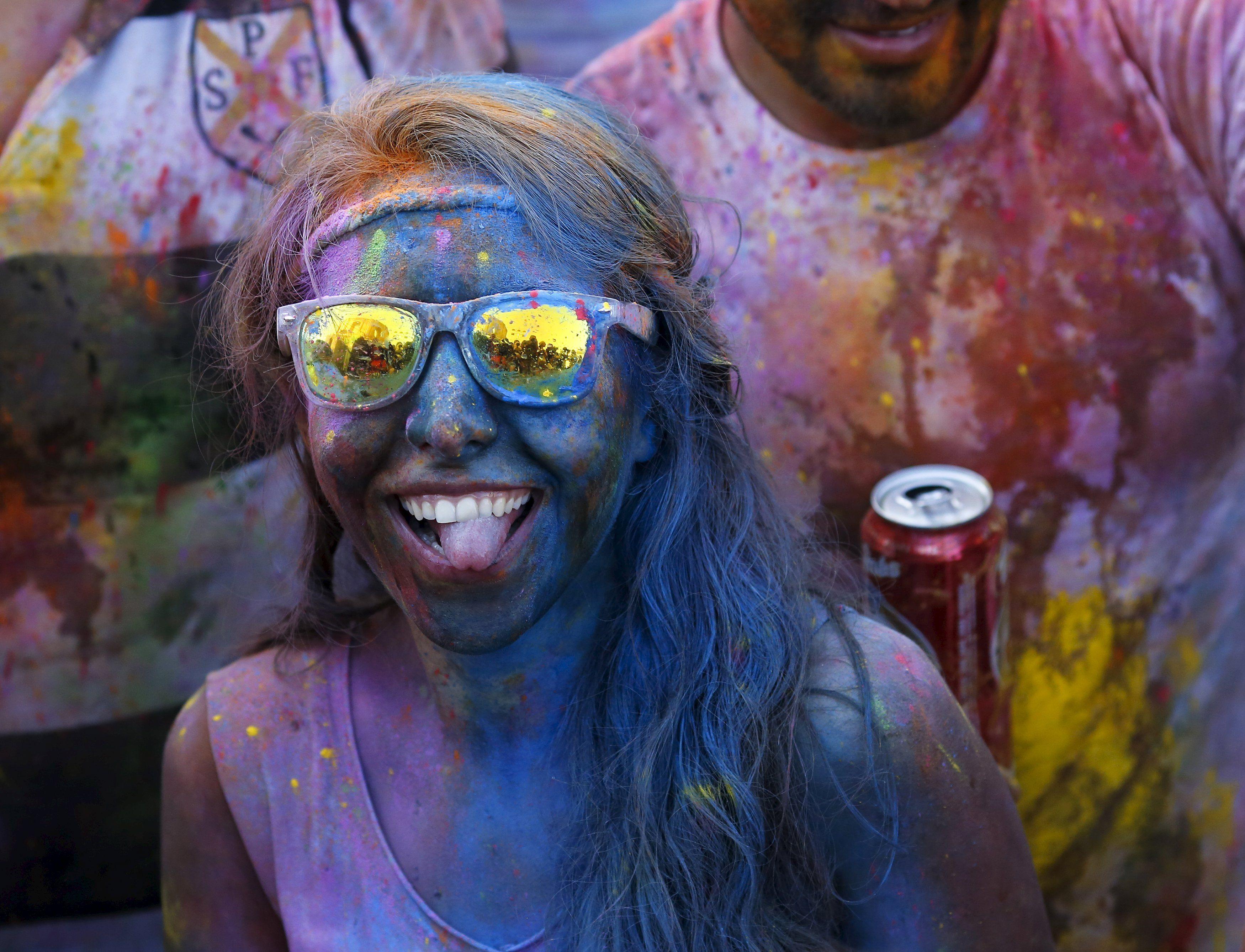 Nascido na Índia, a celebração já ganhou edições em vários outros países / Paul Hanna/Reuters