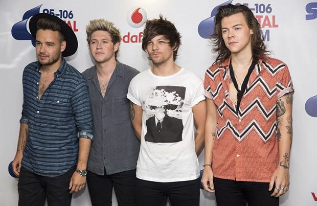 One Direction liderou a parada britânica na sexta / REUTERS/Neil Hall
