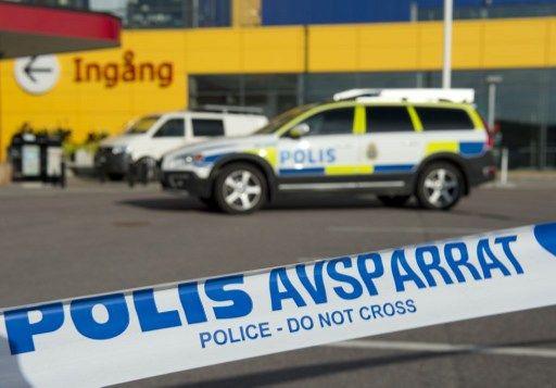 Polícia interdita local do ataque / Jonathan Nackstrand/AFP