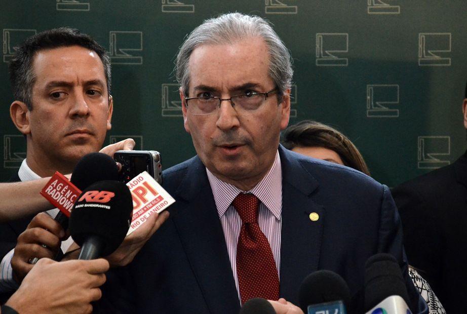 Procuradoria denuncia Cunha por corrupção e lavagem de dinheiro / Renato Costa/Frame/Folhapress