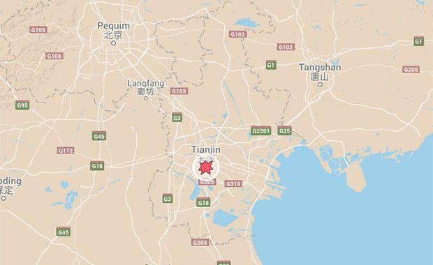 Explosão em Tianjin, China