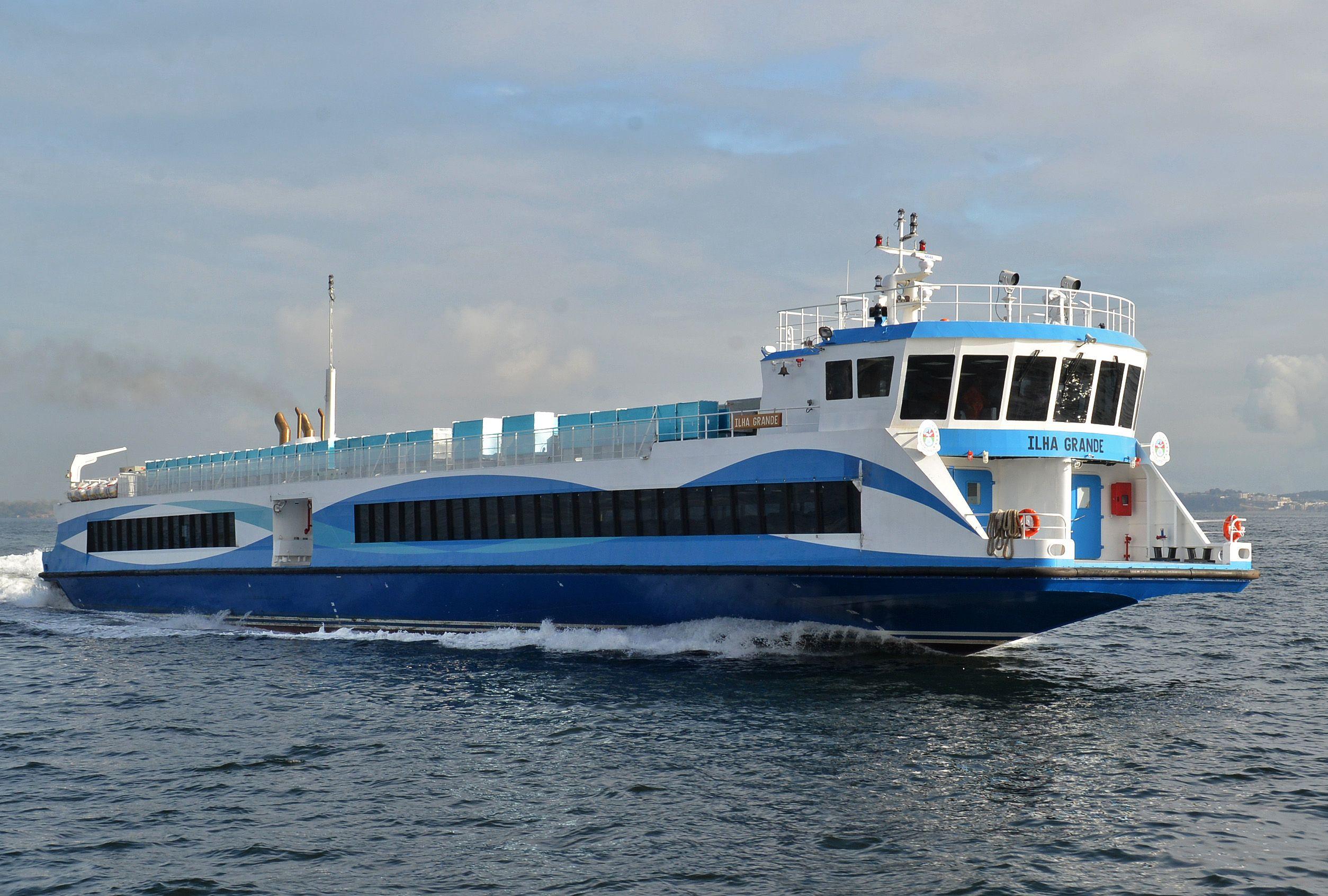 Mais um catamarã entrará em circulação entre Rio Niterói  #2A6EA1 2508x1692 Banheiro Cadeirante Tamanho