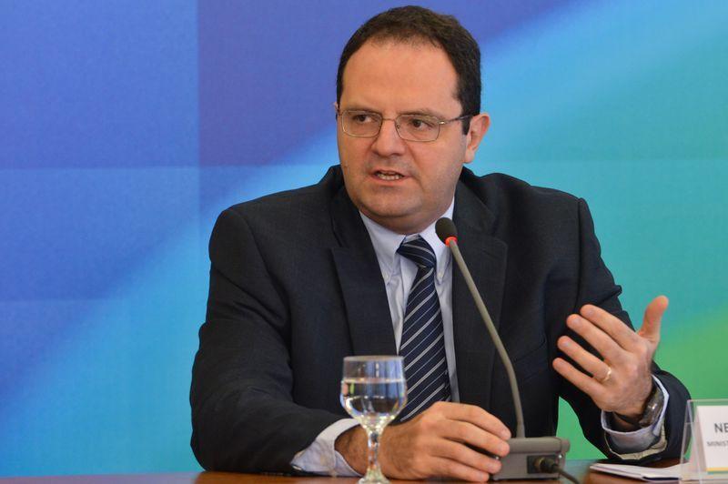 Nelson Barbosa fala após reunião da coordenação política / Antonio Cruz/Agência Brasil