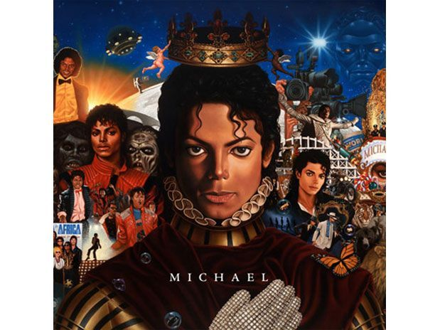 Capa do disco póstumo de Michael Jackson