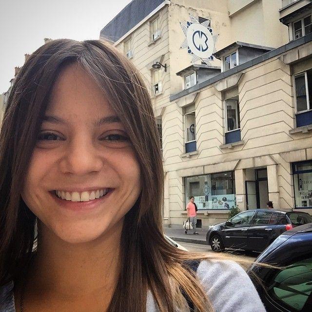 Elisa Fernandes está trabalhando na Le Cordon Bleu