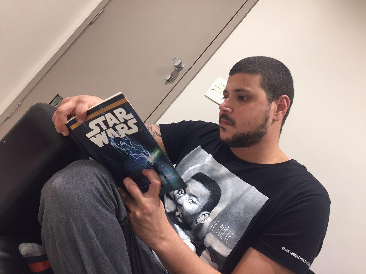Raul Lemos apostou na leitura para relaxar antes da final