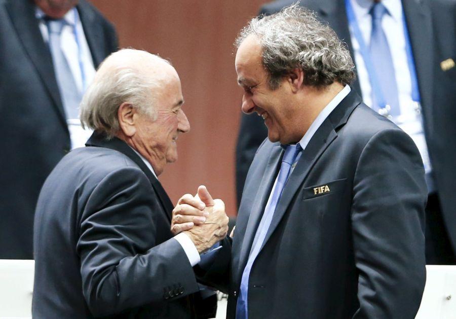 Blatter e Platini cumpriam suspensão provisória de 90 dias desde o começo de outubro - Arnd Wiegmann/Reuters