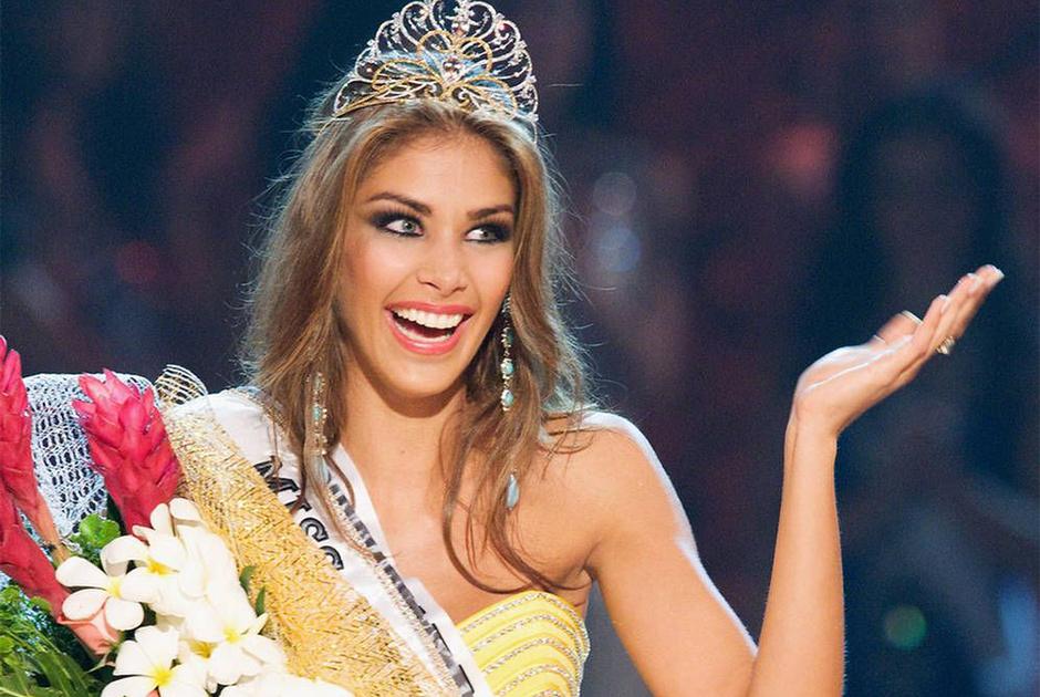 A também venezuelana, Dayana Mendoza, ganhou em 2008.