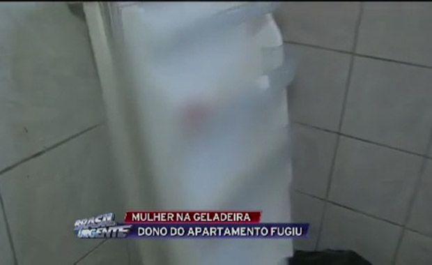 Mulher é encontrada morta dentro de geladeira